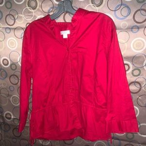 Christopher &Banks Button Down Shirt Size Large